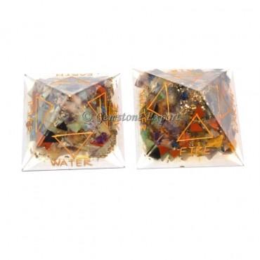 Orgone 5 Elements Pyramids