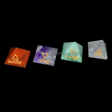Reiki Pyramids Element Set