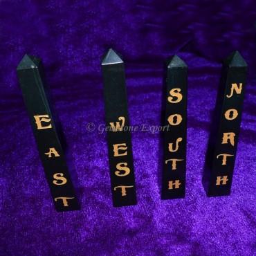 Reiki Black Tower Element Set