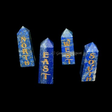 Reiki Lapis Tower Element Set