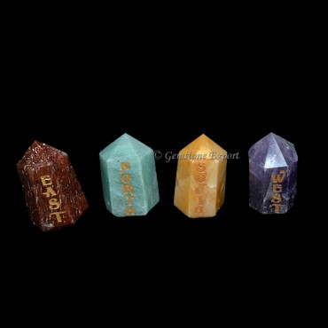 Reiki Natural Point Element Set