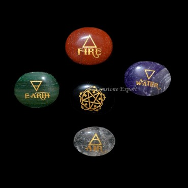 Reiki Oval Shape Element Set