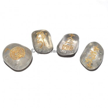 Brazil Crystal Usai Reiki Tumbled Set