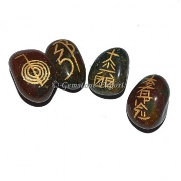 Blood Stone Usai Reiki Tumbled Set