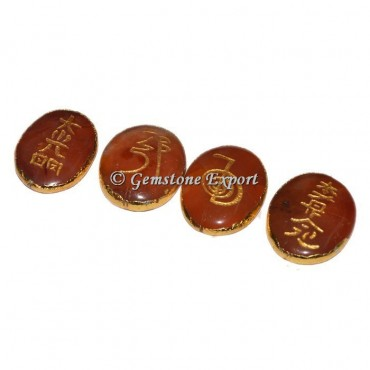 Red Jasper  Reki set