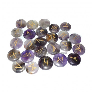 Amethyst Disc Rune Set