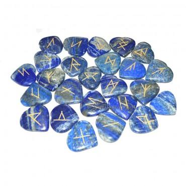 Lapis Lazuli Heart Rune Set