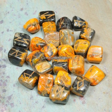 Bumble Bee Rune Divination Set
