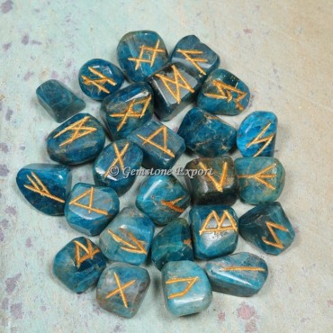 Apatite Rune Divination Set