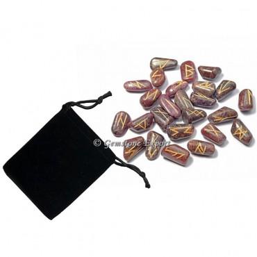 Ruby Stone Rune Set