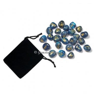 Blue Onyx Rune Set