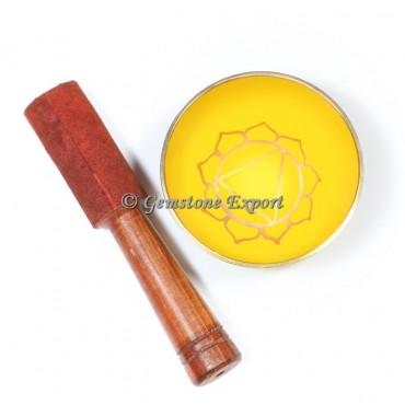 Solar Pexus Chakra Singing Bowl