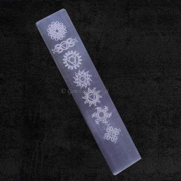 Chakra Symbols Selenite Spiritual Vector wands