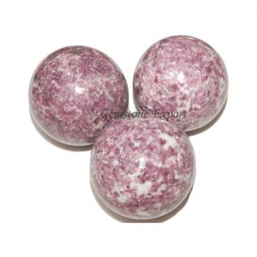 Lepidolite Spheres