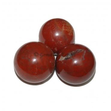 Red Jasper Spheres