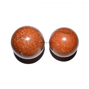 Brown Sunstone Spheres