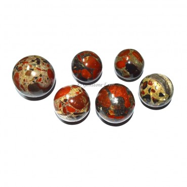 Red Spoted Jasper Sphere