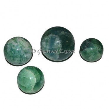 Green Fluorite Ball