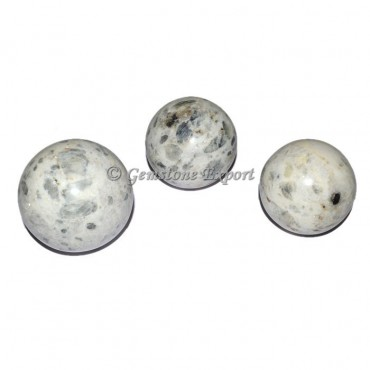 Rainbow Moon stone Spheres