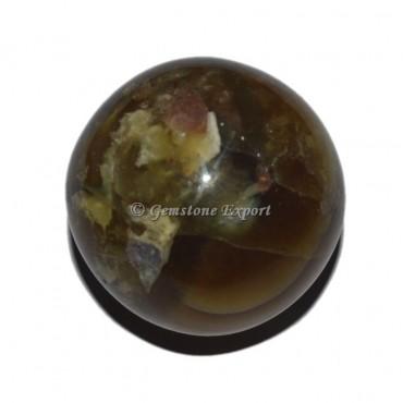 Brown Fluorite Sphere