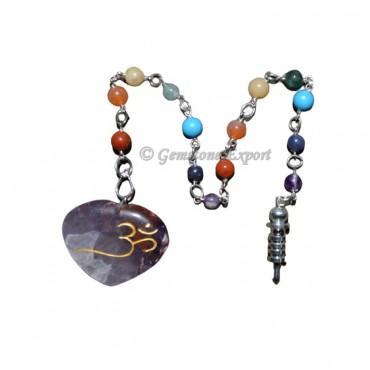 Amethyst SunCatcher Pendulums