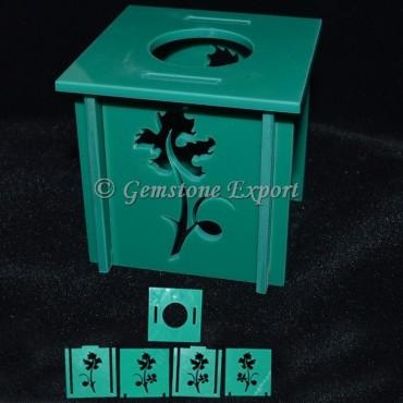 Green box Type Ball Stand