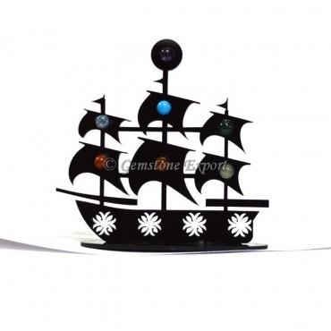 Seven Chaka Stones Ship Stand