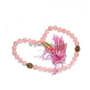 Rose Quartz 33 Beads Tasbih