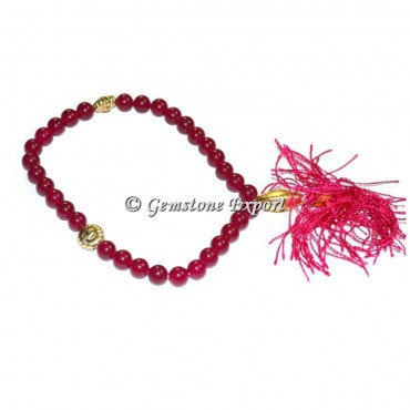 Ruby Pink 33 Beads Tasbih