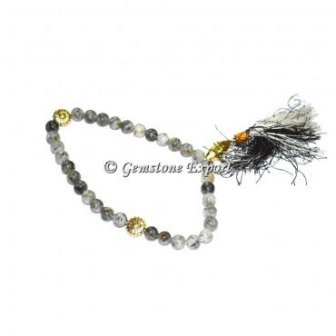 Black Rutile 33 Beads Tasbih