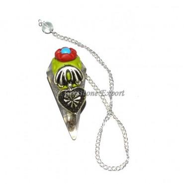 Crystal Quartz Tibetan Pendulums