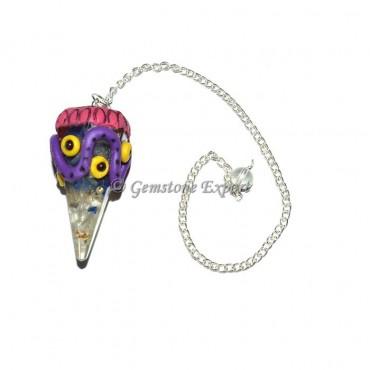 Mix Gemstone Orgone Garnet Tibetan Pendulums