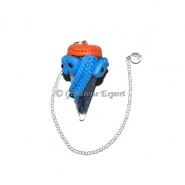 Lapis Lazuli Orgone Chakra Tibetan Pendulums