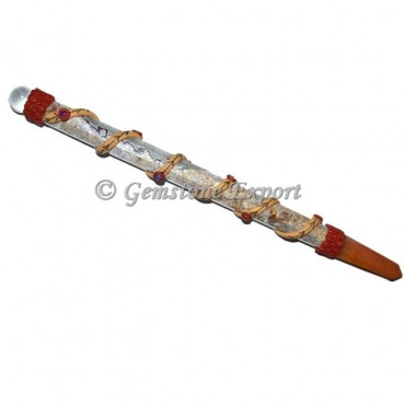 Fancy jasper Long Tibetan Healing Wands