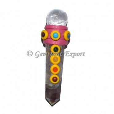 Amethyst Mini Tibetan Healing Wands