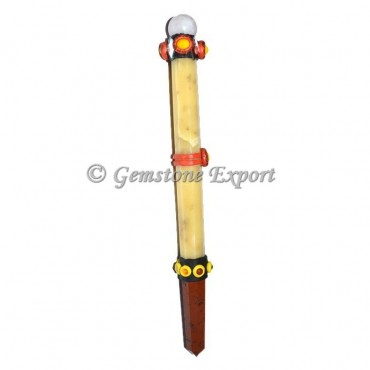 Yellow Jasper Tibetan Healing Wands