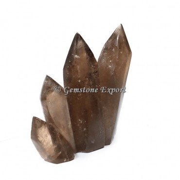 Smokey Quartz  Obelisks