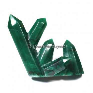 Green Jade  Obelisks