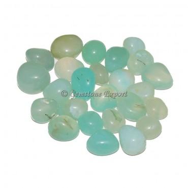 Aqua Onyx Tumbled Stones