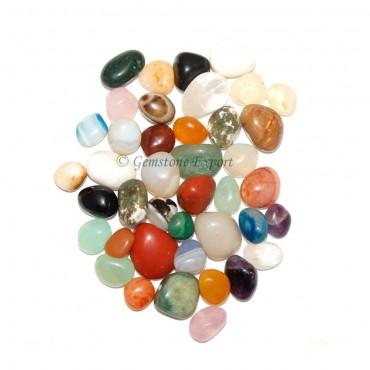 Mix Gemstone Tumbled Stones