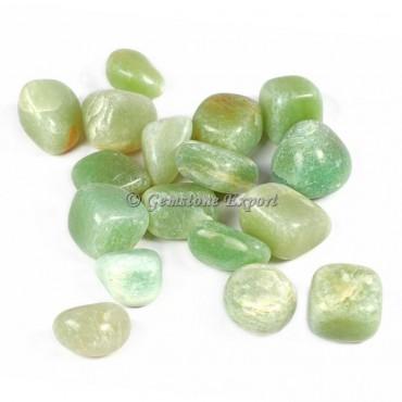 Green Aventruine Tumbled Stones