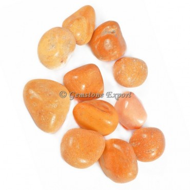 Yellow Jasper Tumbled Stones