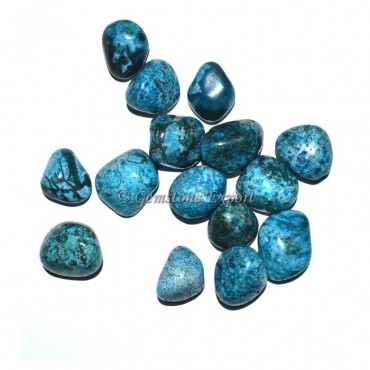 Blue Tree Agate Tumbled