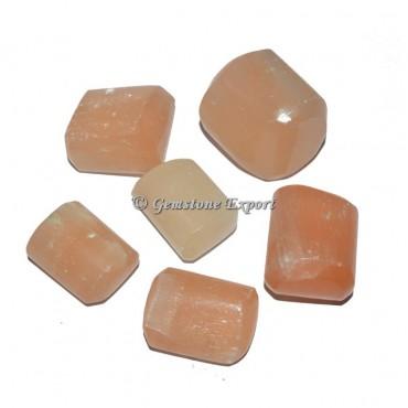 Orange Selenite Tumbled Stones