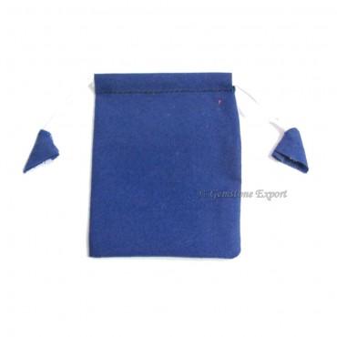 Blue Velvet Gift Bag.