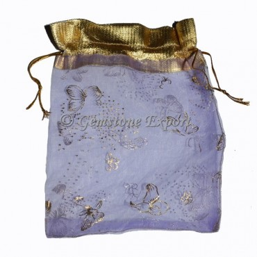 Light Violate Transparent gift Pouch
