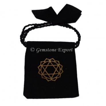 Heart Chakra Printed Pouch