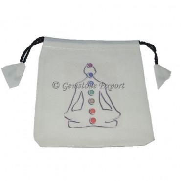 Buddha Printed Chakra Welcome Bag