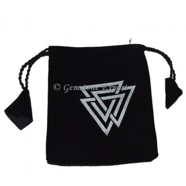 Triangle Printed Pouch