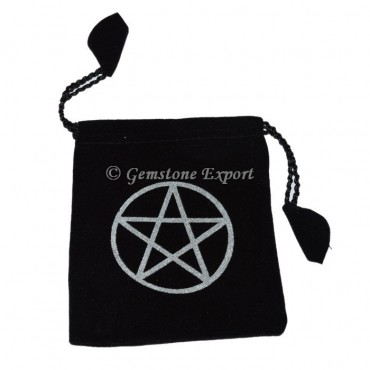 Pentagram Printed Pouch